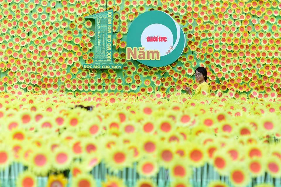 10th Sunflower Festivalheld in Hanoi, Saigon to fundraise for children with cancer