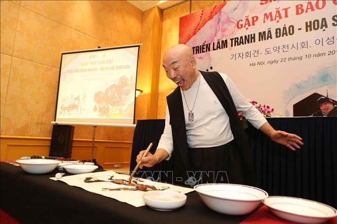 Korean artist to exhibit horse paintings in Hanoi