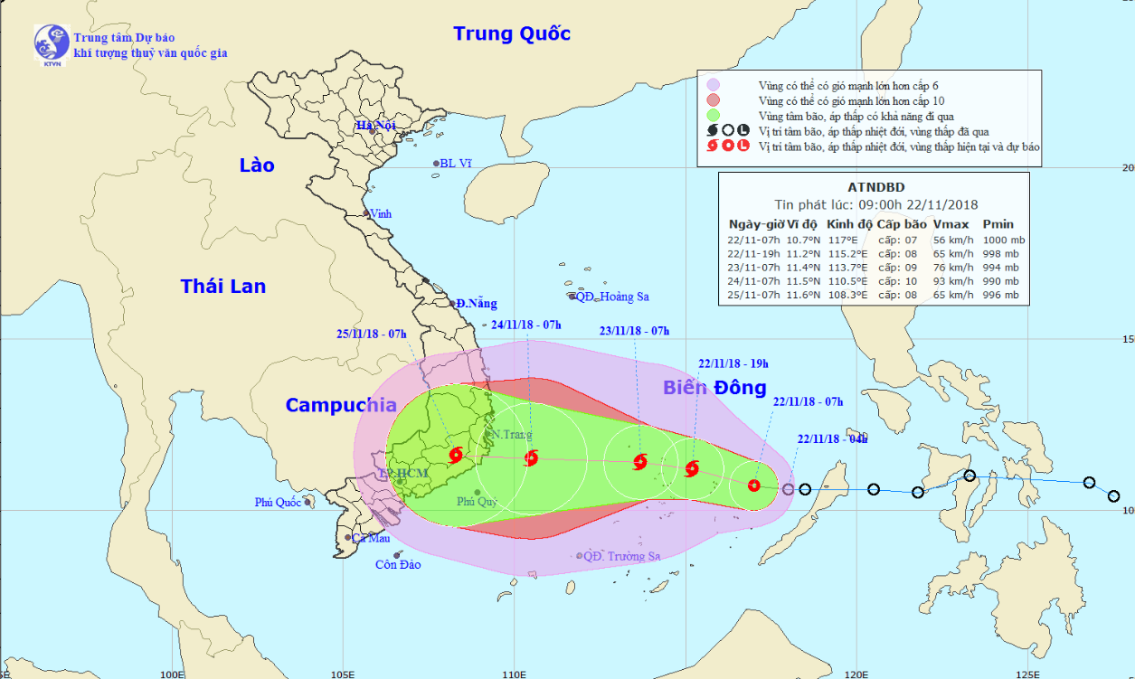 Tropical depression likely to strengthen into storm, threatening south-central Vietnam