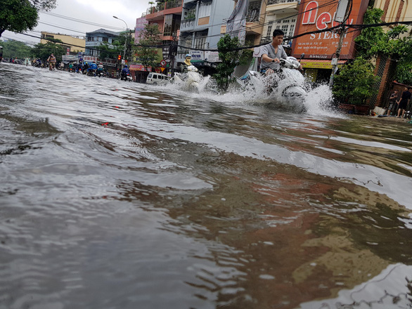 Nightmare for residents as Ho Chi Minh City hit by historic rain