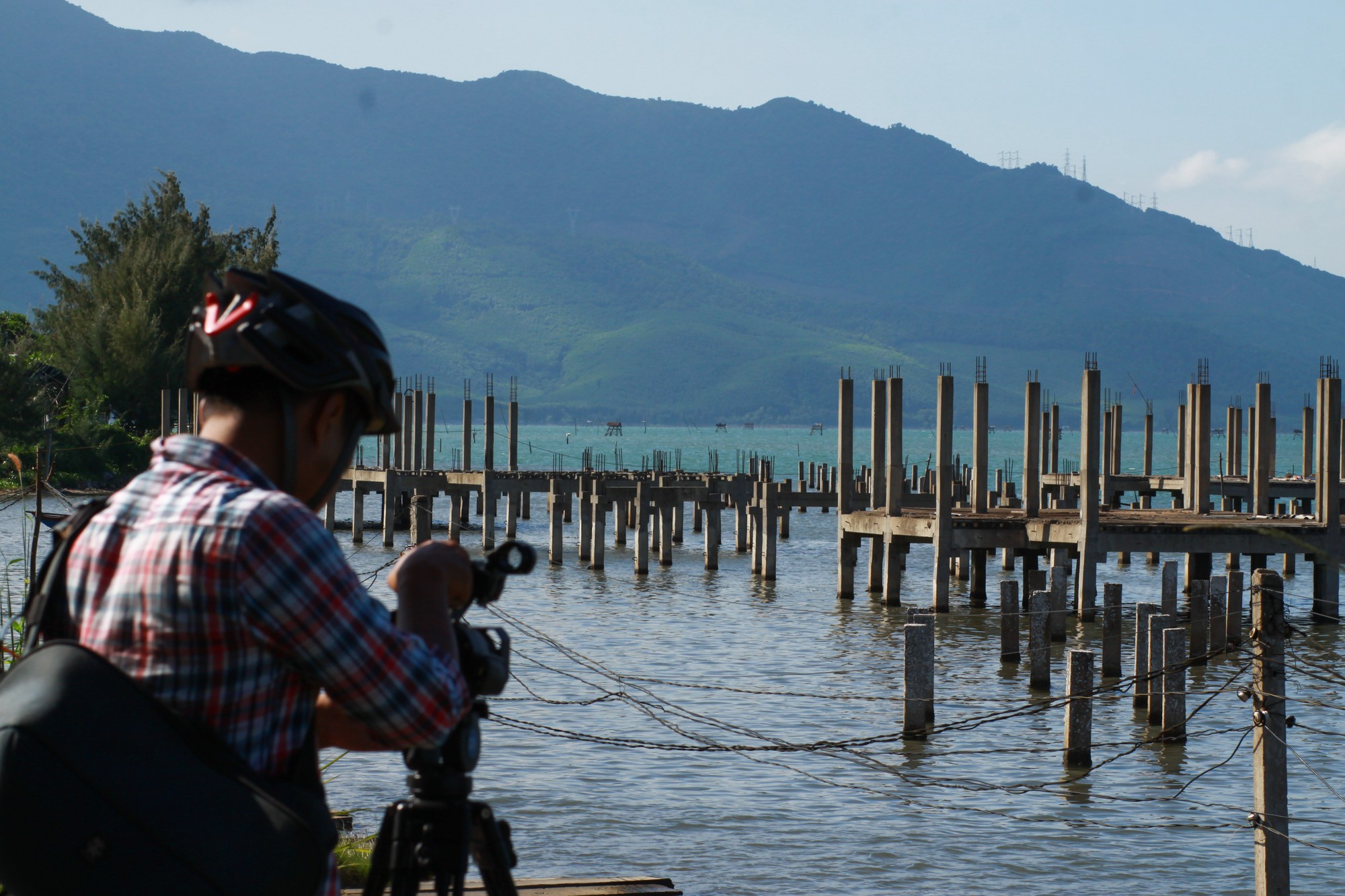 New construction may threaten daily life on famous lagoon in central Vietnam