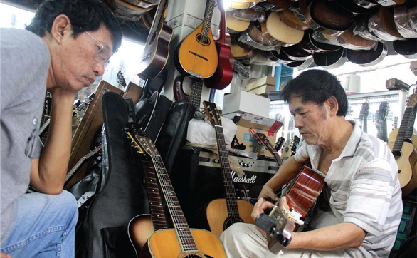 In Ho Chi Minh City, there's a music street called Nguyen Thien Thuat