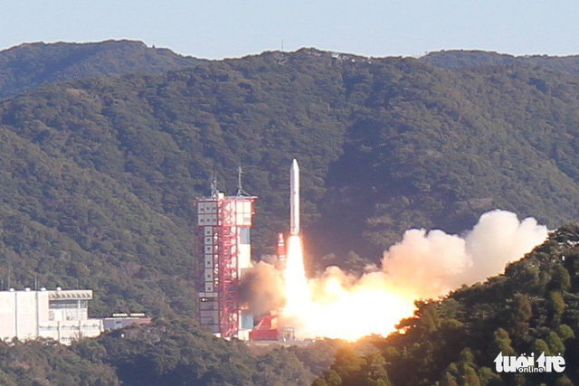 Vietnam-made ocean-monitoring satellite launched from Japan