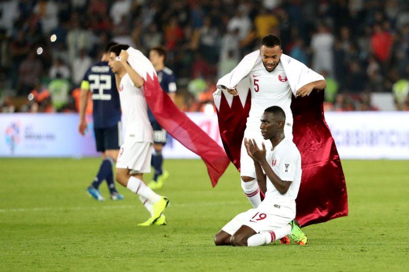 Record-breaker Ali 'proud' as Qatar floor Japan to win Asian Cup