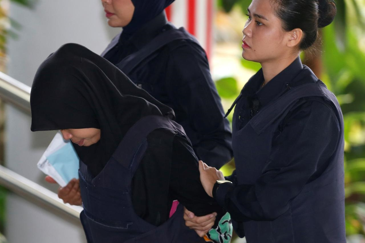 Malaysia drops murder charge against Indonesian woman in Kim Jong Nam case