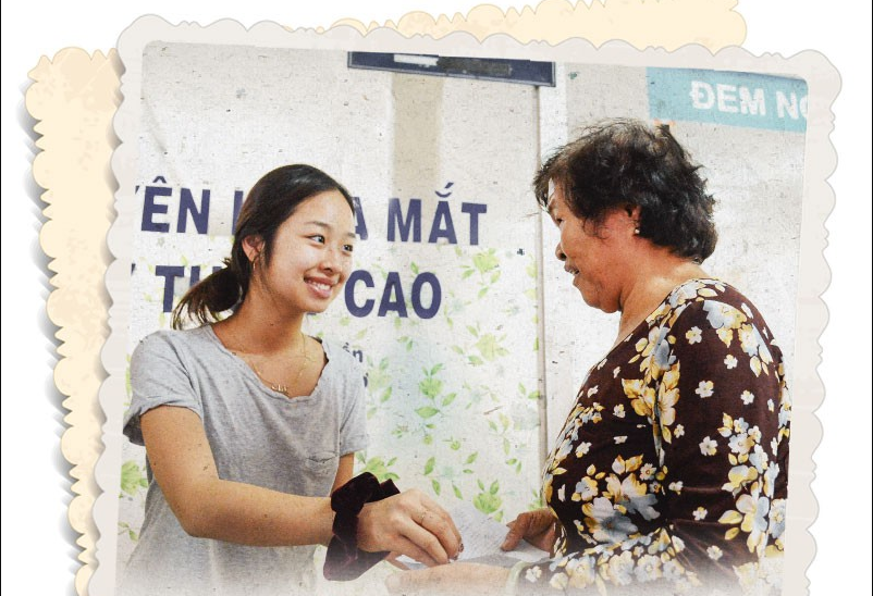 Vietnamese teenage girl runs project that brings light to the blind