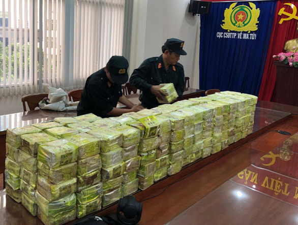 300kg of crystal meth seized in police swoop on Laos-connected drug smuggling ring