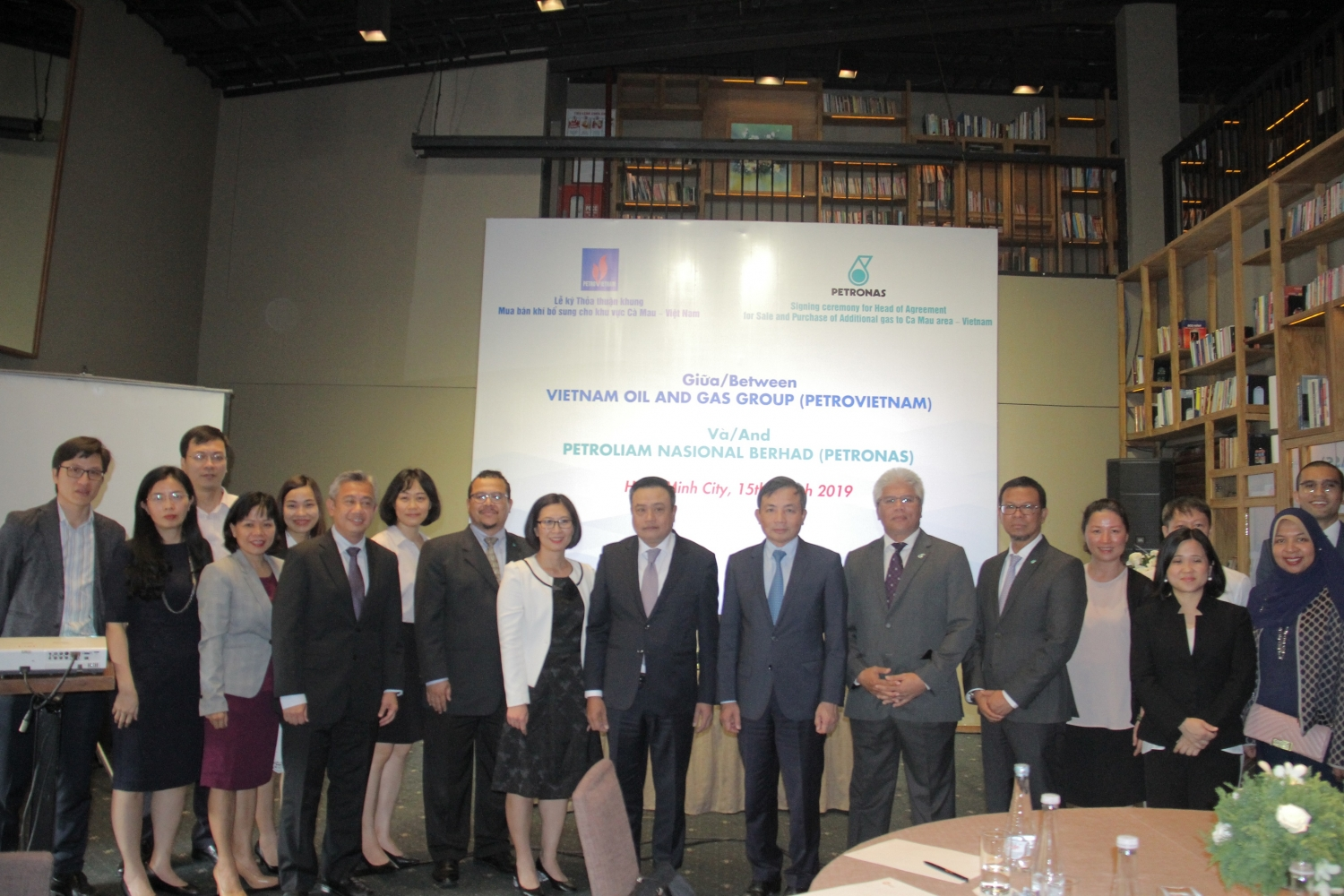 Petrovietnam, Petronas sign head of agreement for additional gas sales