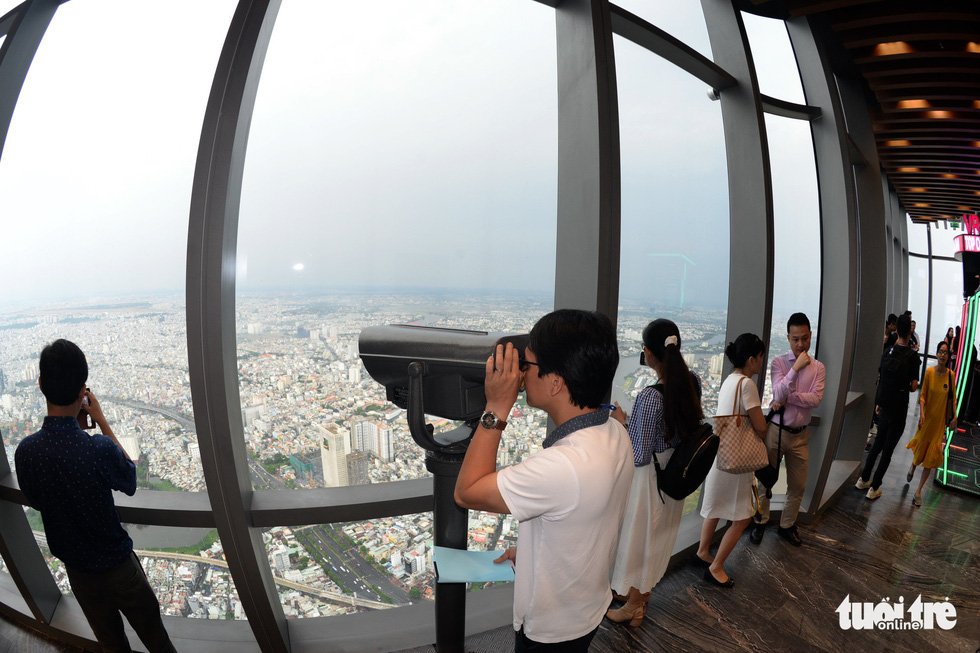Observatory deck on Vietnam's tallest building opens to visitors