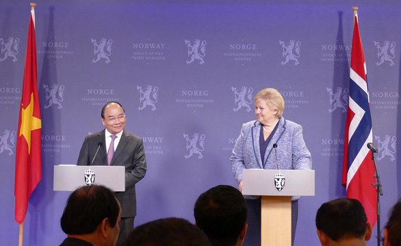 First Norway visit by a Vietnamese PM in 20 years to cement ties