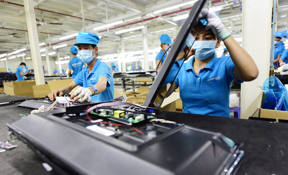 At Asanzo 'manufacturing' factory, Chinese parts are made into 'Vietnamese' products