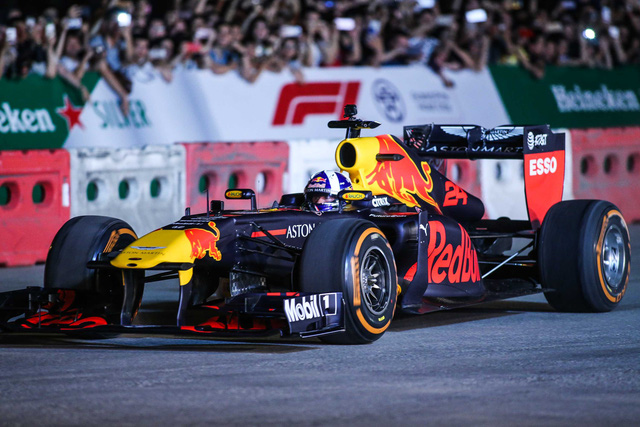 Sale of tickets for Vietnam's first-ever F1 race begins Jul 17
