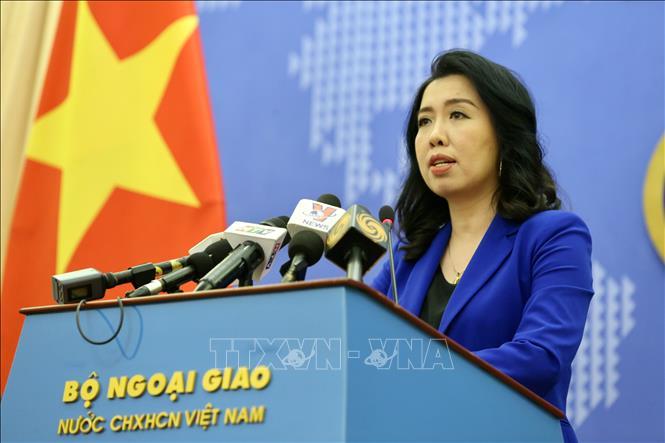 Authorities taking peaceful, lawful measures to protect Vietnamese seas: spokesperson
