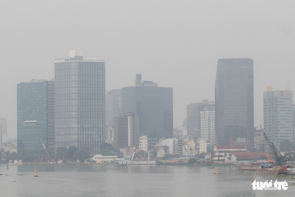 Smog blankets Ho Chi Minh City