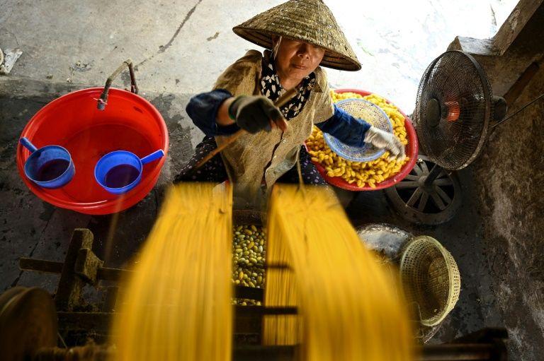 Keeping the thread alive at a Vietnam silk village