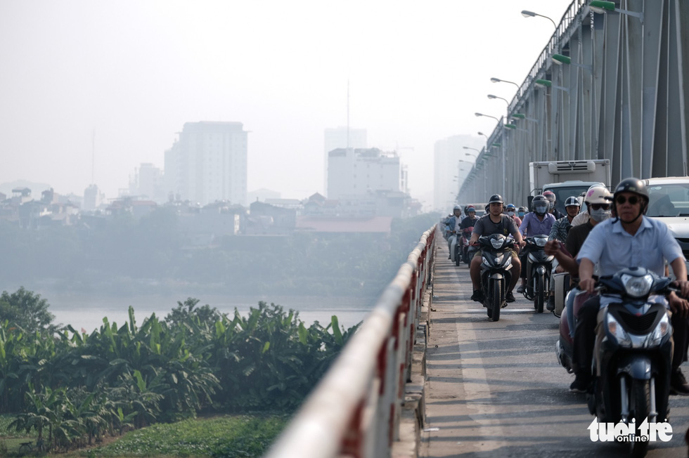 Hanoi air 'very unhealthy' as city engulfed in smog at week's start