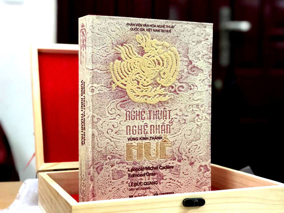 Limited versions of Hue architectural art book auctioned