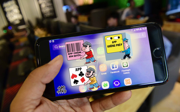 Vietnamese developers hurt by counterfeit, pirated software in booming mobile app sector