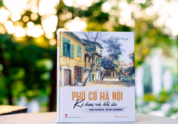 Captivating sketches of Hanoi published in bilingual book