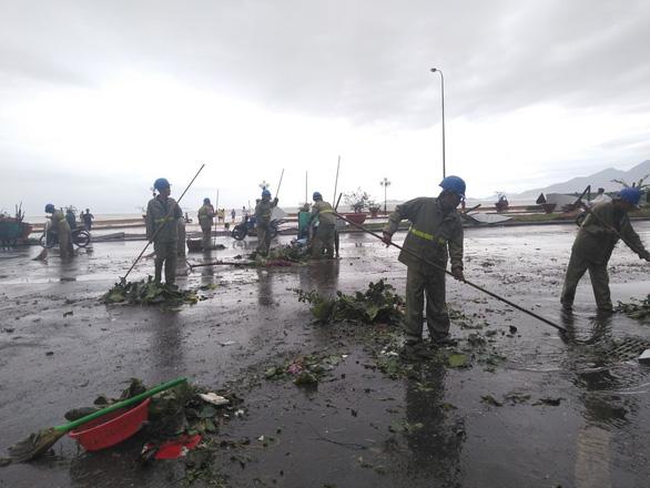 Storm Matmo strikes south-central Vietnam before downgrading to tropical depression