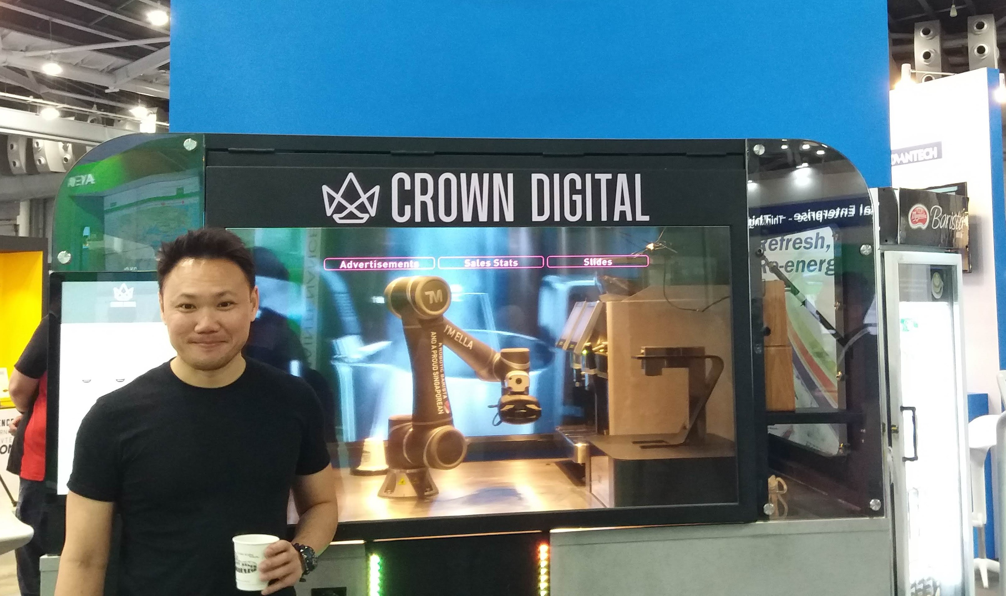 Industry 4.0 coffee: Introducing Ella the robotic barista from Singapore