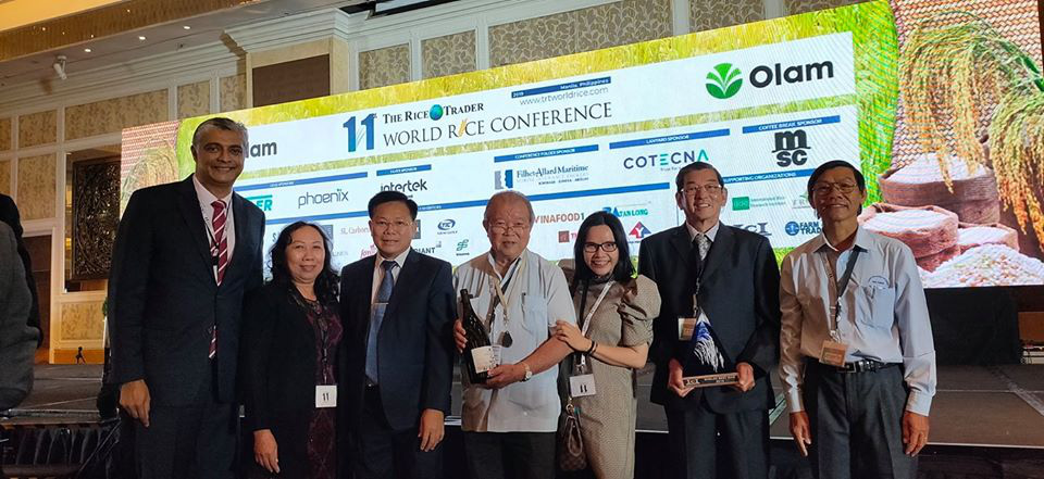 Vietnam wins world's best rice title for 1st time