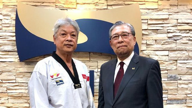 Vietnam taekwondo master becomes first non-Korean promoted to martial art's highest rank