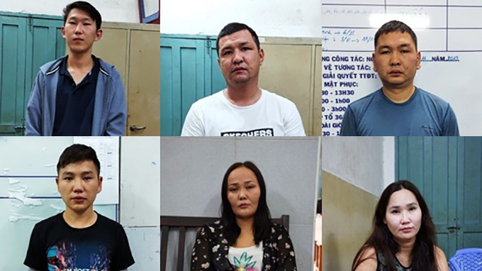Mongolian pickpockets caught stealing from foreigners in Ho Chi Minh City