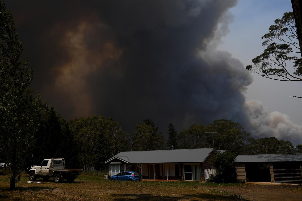 'No news is good news' for families of Australia's volunteer firefighters