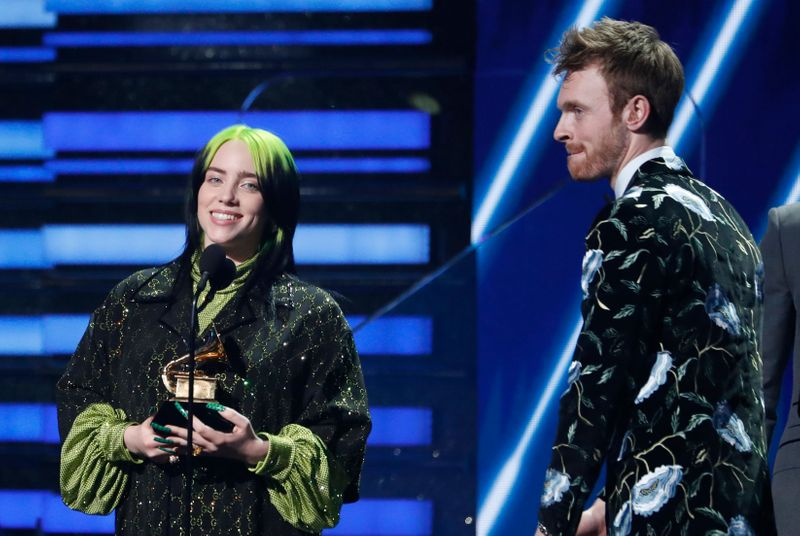 Billie Eilish sweeps Grammy Awards with top four prizes