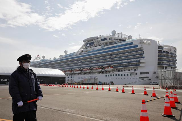 Japan cruise ship virus cases jump to 175 including quarantine officer