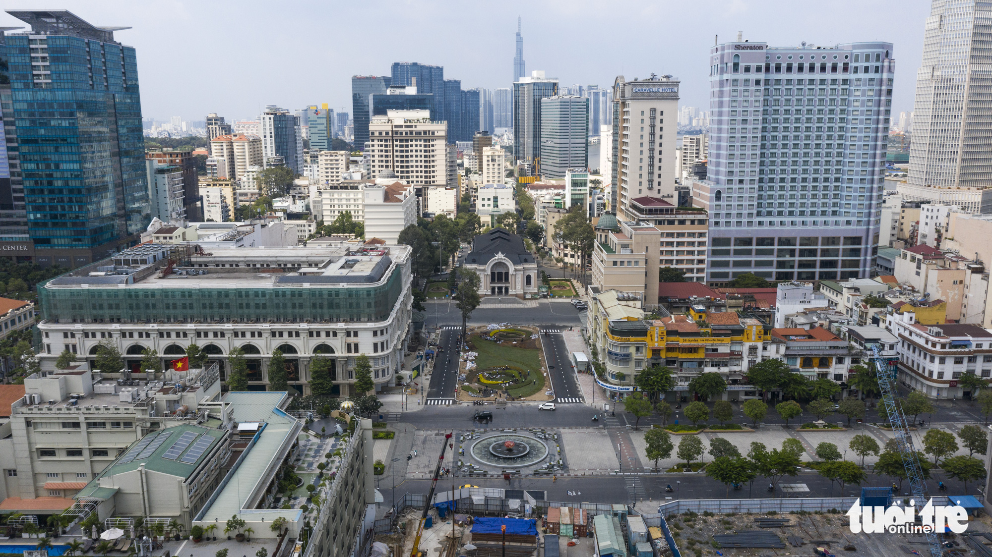 Downtown terminal of Ho Chi Minh City's metro route No.1 nears completion