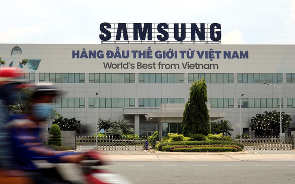 Samsung Vietnam's office at the Saigon Hi-Tech Park in District 9, Ho Chi Minh City, Vietnam. Photo: Hoang An / Tuoi Tre