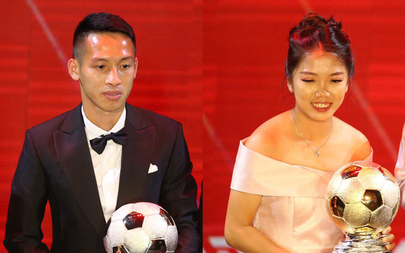 Squad captains named winners of Vietnam Golden Ball Awards