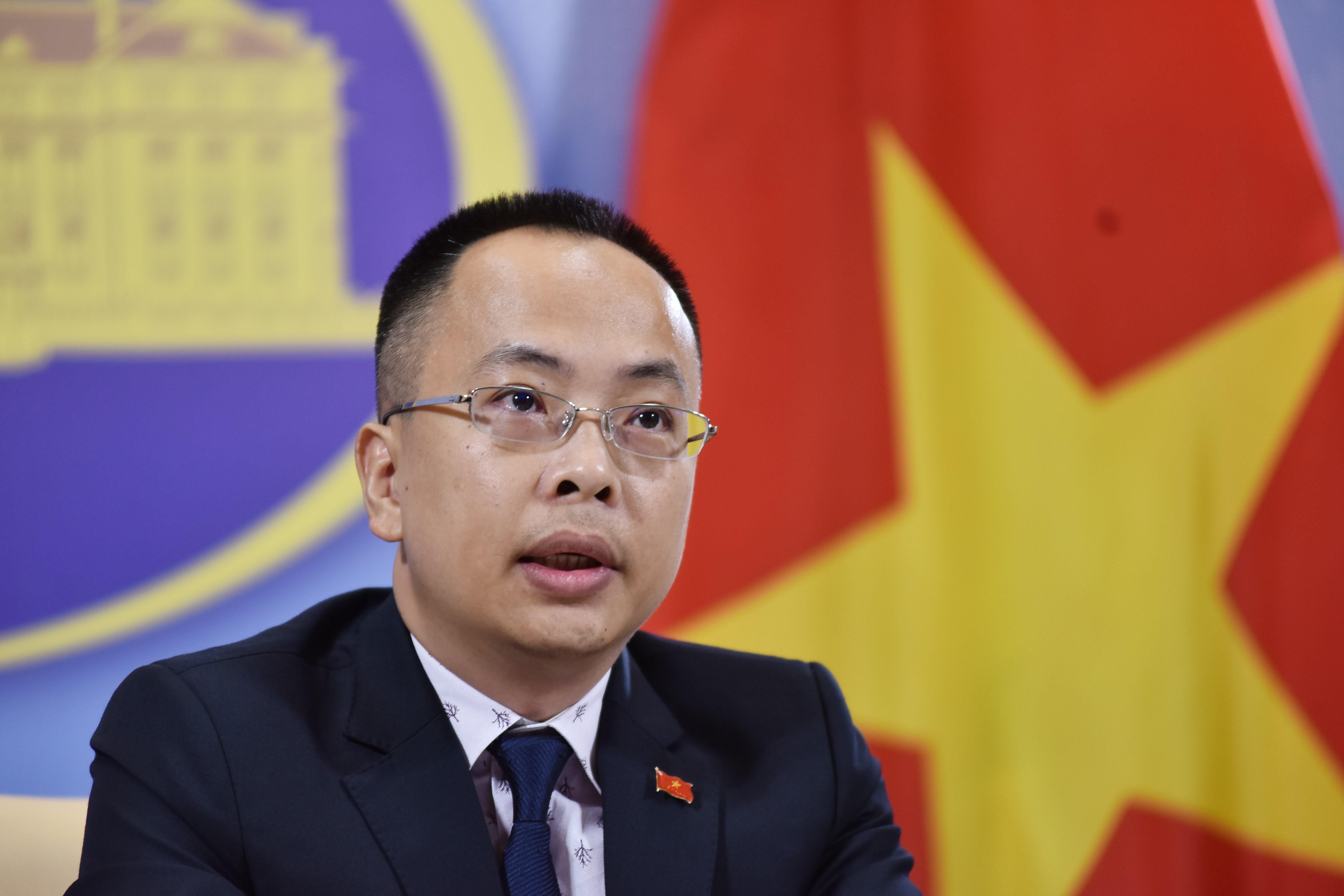 Vice-spokesman of Vietnam's Ministry of Foreign Affairs Doan Khac Viet. Photo: Vietnam News Agency