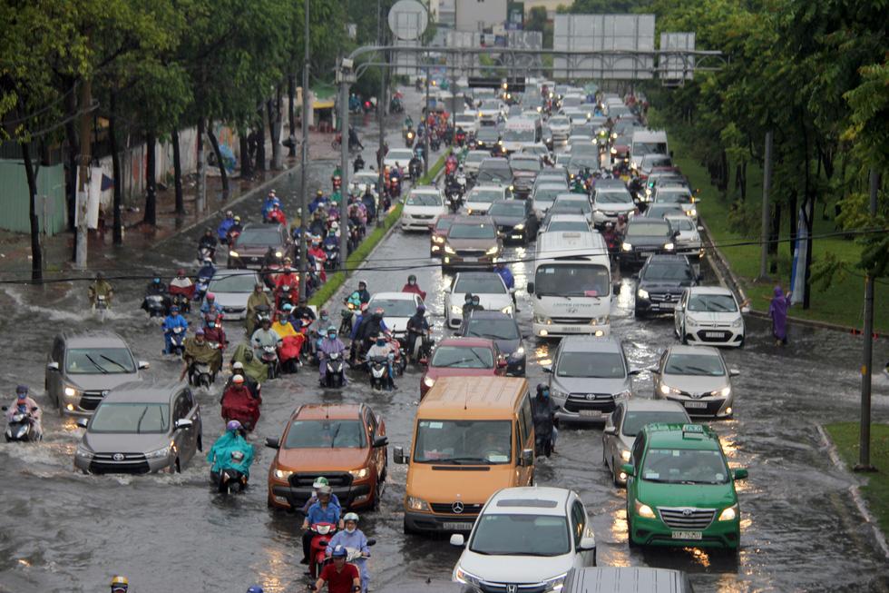 Ho Chi Minh City floods after heavy rain