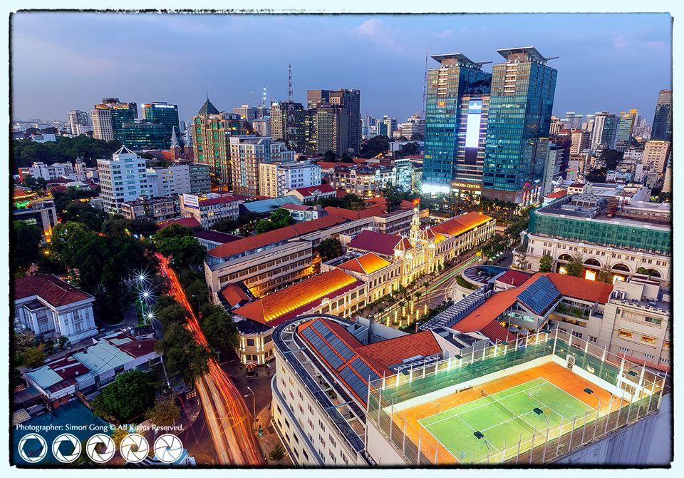 Ho Chi Minh City by night. Photo: Gong Rong Nan