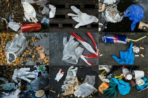 One problem with throwaway plastics is that they are thrown away carelessly, often ending up in sewage and then in rivers and the ocean where damage the environment. Photo: AFP