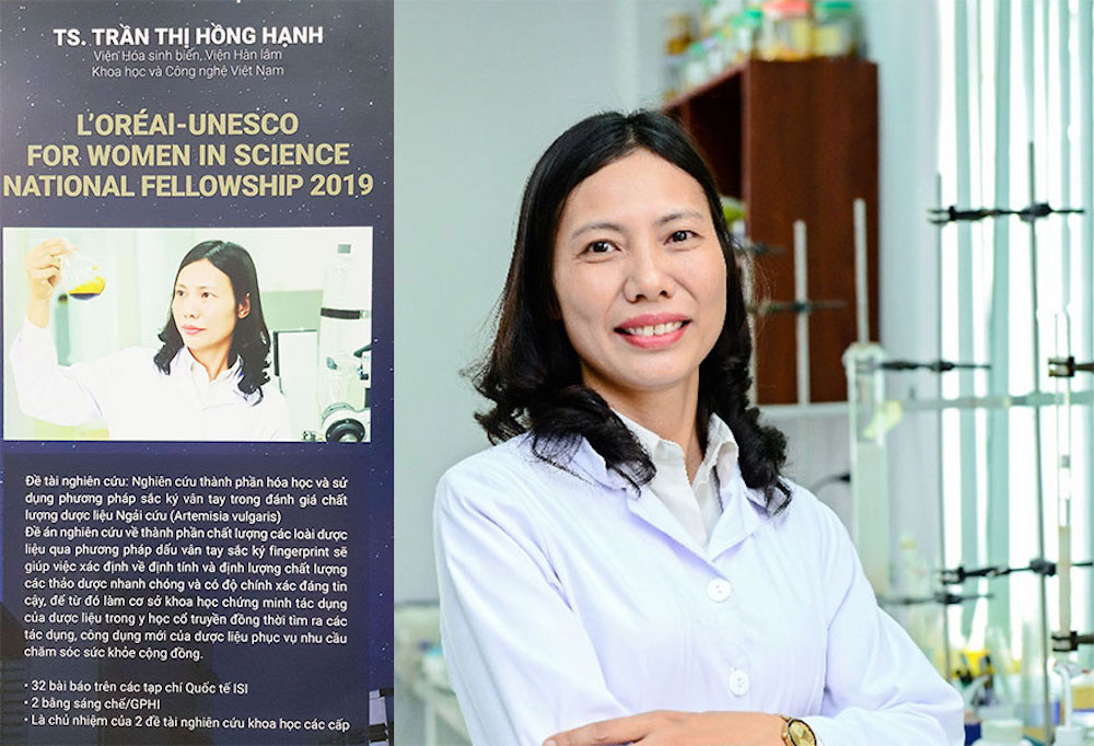 Dr. Tran Thi Hong Hanh is seen in a file photo.