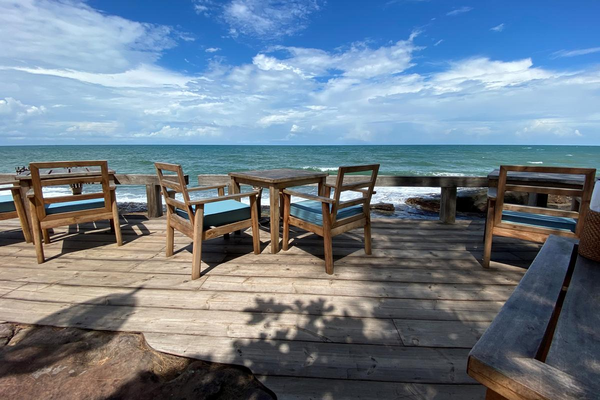 Views from a beachside restaurant are seen at the Mango Bay resort in Phu Quoc island, Vietnam, June 13, 2020. Photo: Reuters