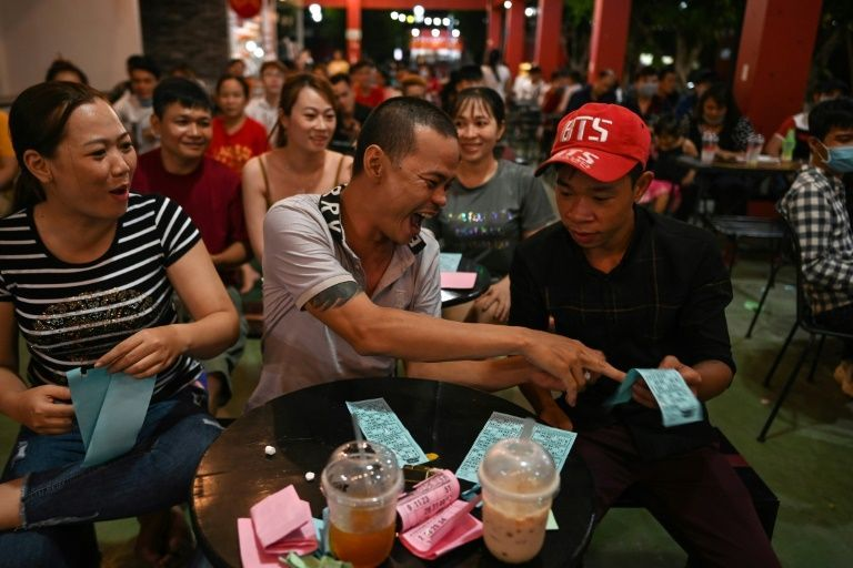Much of the audience at the shows in Ho Chi Minh City and next door Binh Duong province is young. Photo: AFP