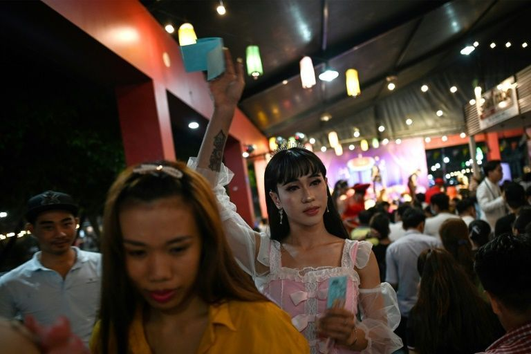 Lotto shows used to be a regular part of rural life in Vietnam's south but their appeal began to fade until Sai Gon Tan Thoi burst onto the mainstream nightlife circuit in 2017. Photo: AFP