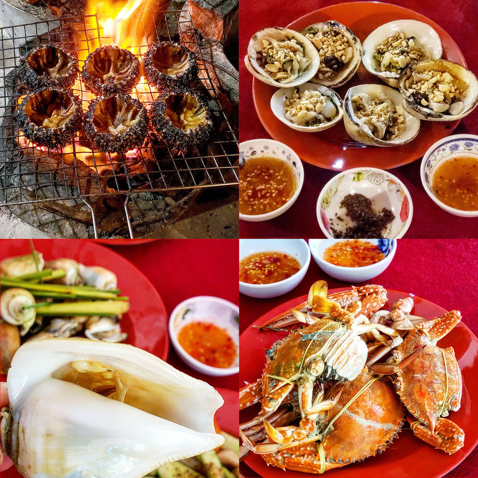 Fresh, nutrient-rich seafood is one of the irresistible attractions in the Hai Tac archipelago off Ha Tien City in Kien Giang Province, Vietnam's Mekong Delta. Photo: Gia Tien / Tuoi Tre