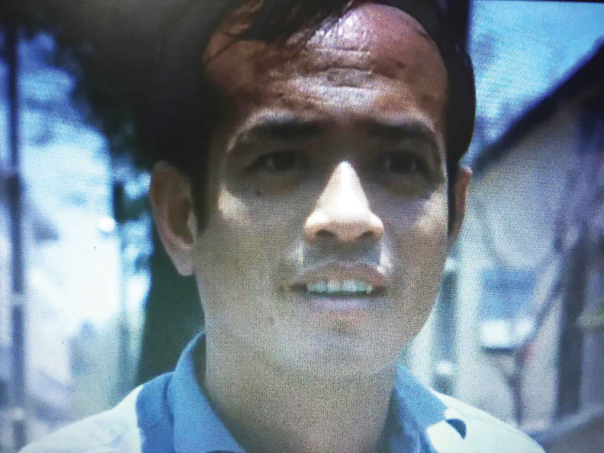 Star actor Le Quynh as captured in this screenshot of Raoul Coutard's 'Hoa-Binh' (1970)