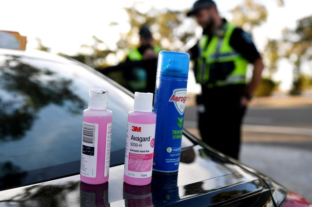 Australia sets up suburban checkpoints to contain Melbourne virus hotspots