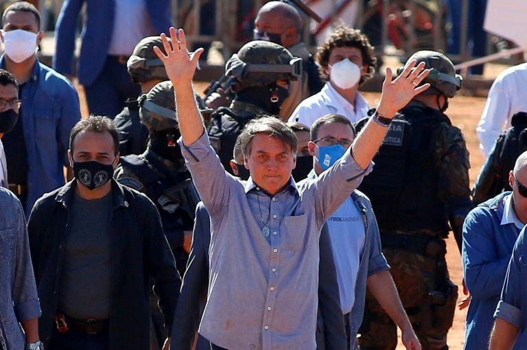 Brazil's Bolsonaro announces positive coronavirus test