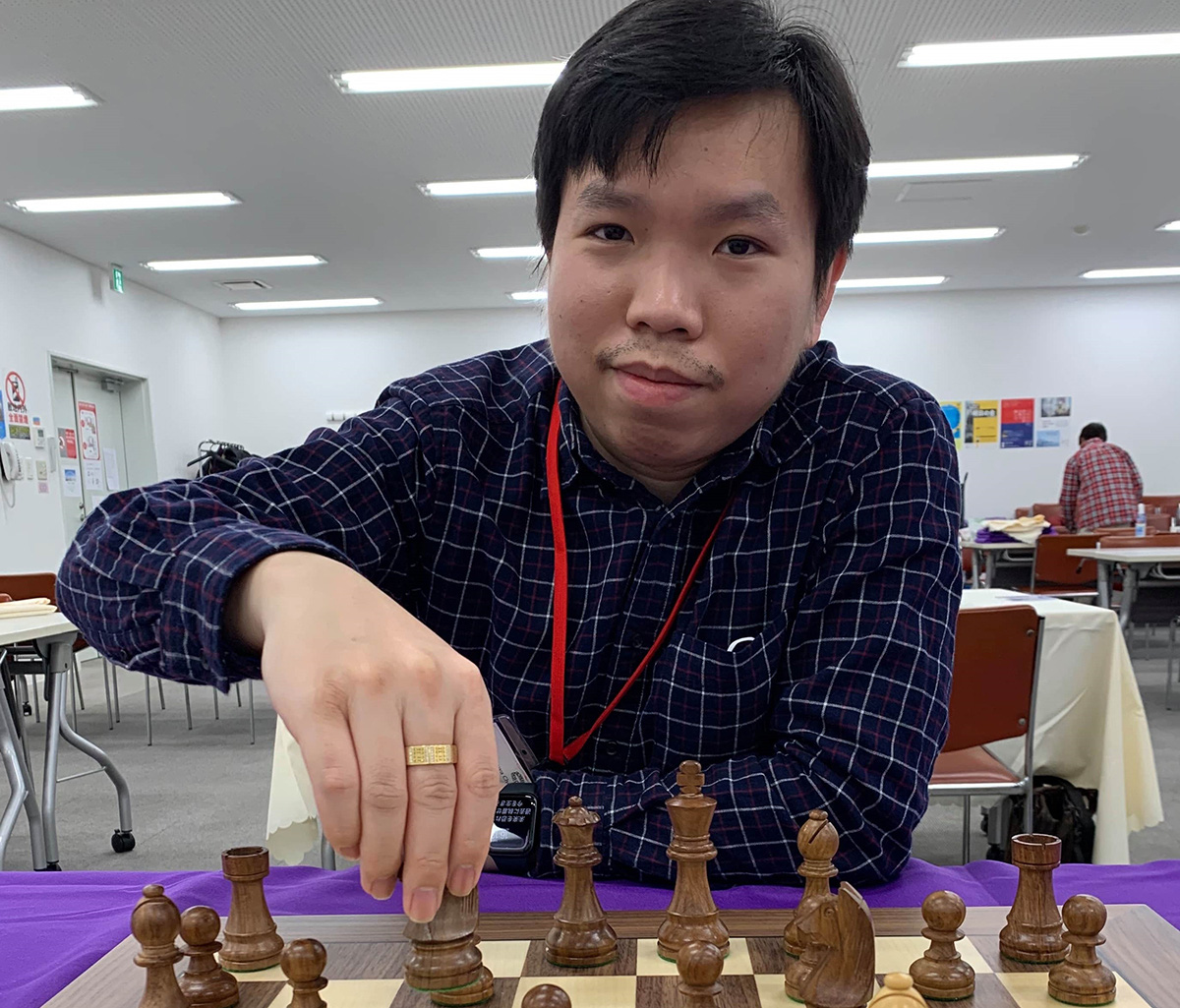 Vietnamese man captains Japan's chess team at FIDE Online Olympiad 2020