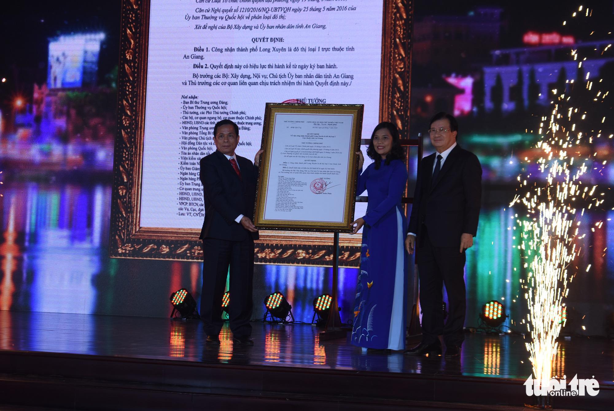 Mekong Delta's Long Xuyen rises to first-tier city status