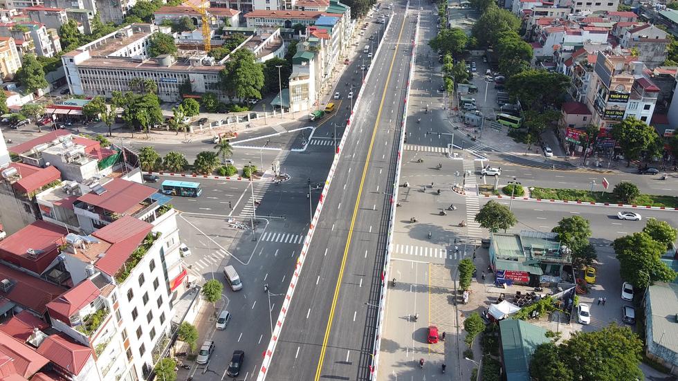 Hanoi inaugurates capital's largest overpass