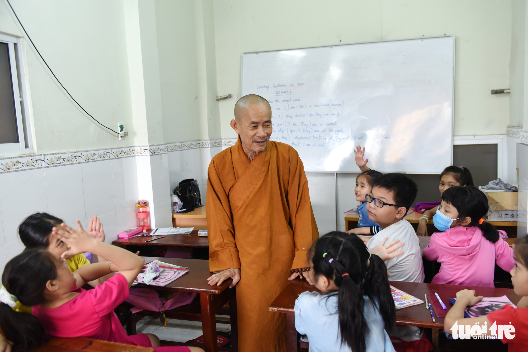 Pagoda runs gratis language classes in Ho Chi Minh City for over a decade